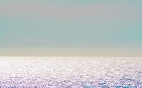 Картинка sky, sea, ocean, seascape, horizon, sunlight, Atlantic