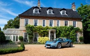 Картинка car, небо, дом, обои, Lotus, house, автомобиль, sky, wallpapers, Special Edition, Elise, Cup 250