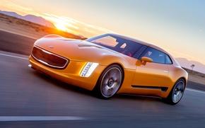 Картинка 2014, Pictures, Kia GT4 Stinger Concept, Sport Car