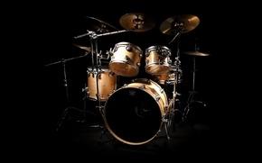 Обои барабаны, тарелки, ударник, drums