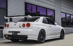 Картинка GTR, Nissan Skyline, R34, JDM, Energo5