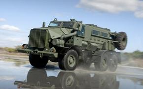 Картинка брызги, скорость, бронетранспортер, BAE Systems, Casspir Mk6