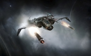 Картинка Gladiator, Star Citizen, space ship