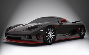 Обои Koenigsegg, спорт кар, CC-Edition, карбон