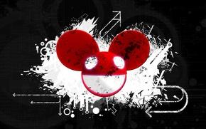 Картинка музыка, креатив, фон, минимализм, клуб, красиво, тёмные, deadmau5