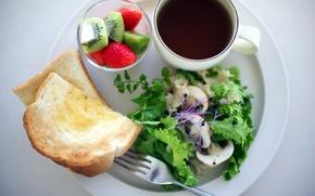 Картинка макро, еда, завтрак