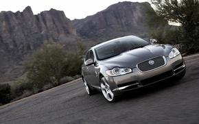 Обои Jaguar, машины, серый