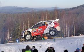 Картинка Car, ford, cars, rally, WRC, snow, machinery