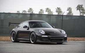 Картинка Porsche, Black, GT3