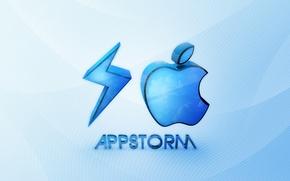 Картинка apple, яблоко, steve jobs, Стив джобс