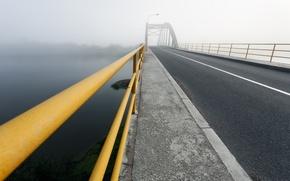 Картинка дорога, пейзаж, мост