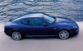 Картинка Maserati, blue, gransport