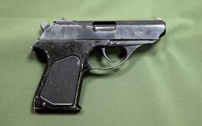 Картинка пистолет, фон, тень, gun, pistol, пушка, оружия, маленькая, with, background, fly, курок, накладки, потертости, этого, ...