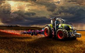 Картинка трактор, Claas, 900, клаас, Axion