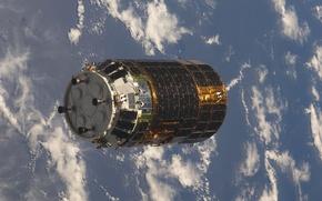 Картинка космос, спутник, иследовательская станция