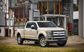 Картинка Ford, форд, пикап, Super Duty, F-350, Crew Cab, 2016