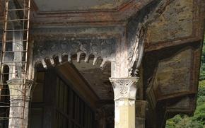 Картинка Станция, Абхазия, Заброшенный, Новый Афон