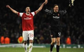 Картинка футбол, футболисты, игроки, Arsenal