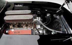 Обои Шевроле, 1969, Камаро, двигатель