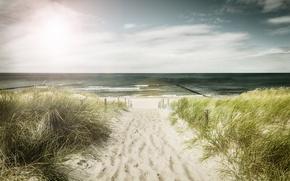Картинка море, пляж, лето