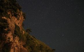 Картинка космос, звезды, ночь, природа