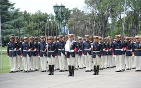 Картинка Argentina, Flag, Soldiers, Military Parade, Mauser, Uniform, Guard