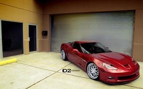 Картинка Corvette, Chevrolet, Grand, Sport, Wheels, D2FORGED, 20″, FMS01