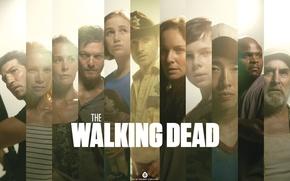 Обои сериал, актеры, actors, serial, The Walking Dead, Ходячие мертвецы