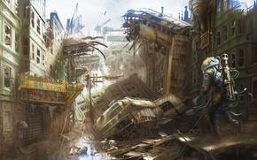 Картинка Арт, Bethesda Softworks, Bethesda, Bethesda Game Studios, Fallout 4, The Art of Fallout 4