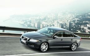 Картинка Volvo, Серый, Вольво, S80