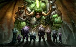 Обои Воины, Герои, WoW, Демон, World of Warcraft