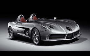 Картинка McLaren, Mercedes-Benz, SLR, мерседес, 2009, Stirling Moss, Z199