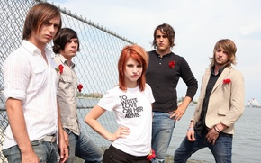 Обои Paramore, Hayley Williams, rock, группа