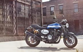 Картинка Yamaha, motorcycle, speed, classic, Moto, 2015, xjr1300