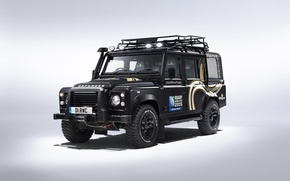 Обои 2015, land rover, defender, rugby world cup, лэнд ровер