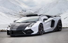 Картинка Lamborghini, Aventador, Mansory