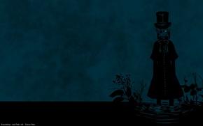 Картинка пустота, одиночество, мрак, болото, отчаяние, повязка на глаз, Kuroshitsuji, Ciel Phantomhive, дьявольский дворецкий, by Yana …