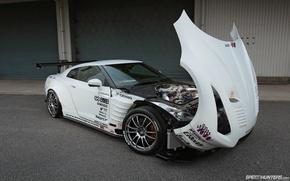 Картинка тюнинг, GTR, Japan, Nissan, supercar, japan, tuning, speedhunters, 2013, wallpeapers