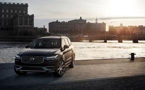 Картинка машина, Volvo, Швеция, вольво, Volvo XC90, XC90. автомобиль, статус, надёжность