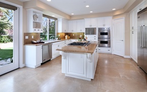 Картинка дизайн, мебель, вилла, интерьер, кухня, Design, Interior, Kitchen