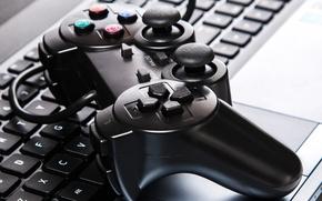 Картинка games, joystick, keyboard