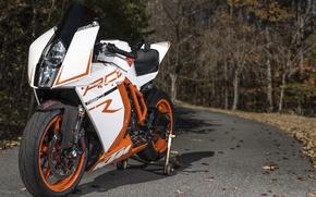 Картинка дорога, дизайн, мотоцикл, спортбайк, KTM RC8R