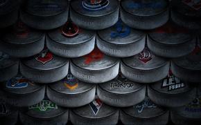 Картинка лед, черный, хоккей, шайба