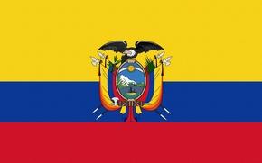 Картинка Флаг, Герб, Эквадор, Ecuador