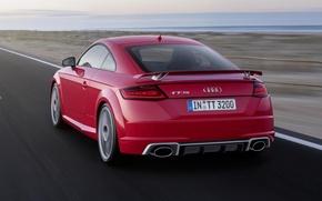 Картинка Audi, Красный, Ауди, Задок