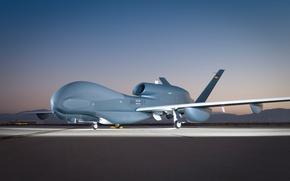 Картинка аэродром, стратегический, БПЛА, разведывательный, Euro Hawk, Германский, RQ-4
