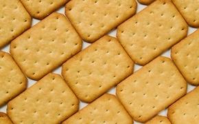 Обои текстура, печенье, крекер, соль