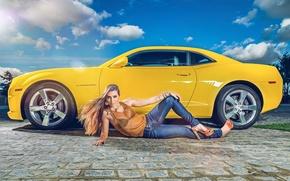 Картинка Chevrolet, Camaro, Chevrolet Camaro, Helena De Castro Rios
