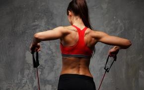 Обои fitness, elastic, sportswear