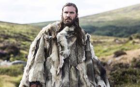 Картинка сериал, Vikings, мех, историческая, Викинги, Clive Standen, драма, Rollo